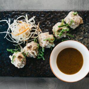 Amami Sushi Pork Dumplings