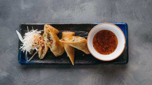 Amami Sushi Veg Spring Roll
