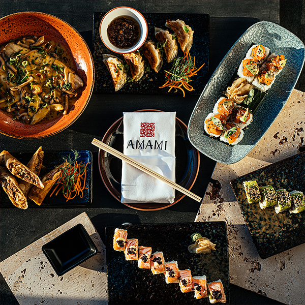 An Exciting Menu Of Asian Delicacies!